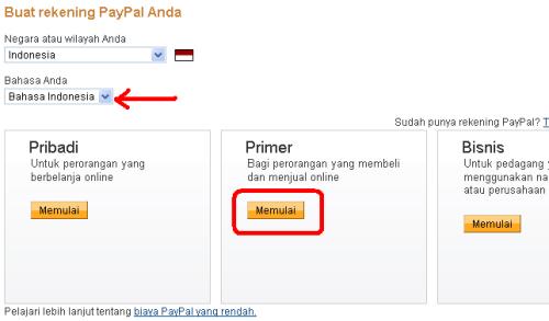 Langkah Mudah Daftar Paypal Indonesia