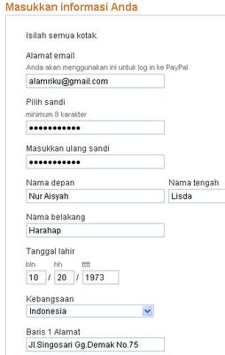 Cara mendaftar Paypal Mudah